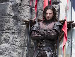 Watch Robin Hood. Guy of Gisborne will demonstrate a perfectly flawed villain you can't help but love to hate... or hate to love... something. Also, Richard Armitage. (Wink)