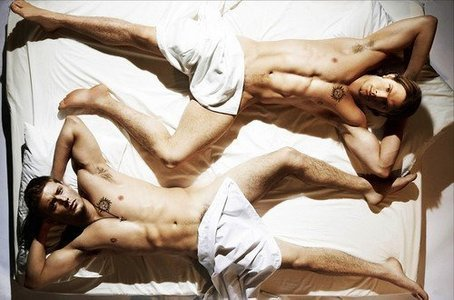naked winchesters